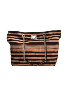 SONIA RYKIEL Striped Velvet Shopping Bag. #soniarykiel #bags #leather #lining #velvet #cotton