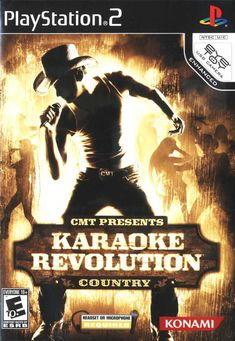 CMT Presents: Karaoke Revolution Country Description CMT Presents: Karaoke Revolution Country is the fifth game in the series released in North America. It features: * 35 classic and modern Country music hits; * Fifteen different singing venues; Modern Country Music, Country Music Hits, Juegos Ps2, Used Cameras, Character Creation, Karaoke, Videos, Revolution, North America