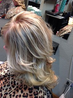 The perfect Blonde highlight/lowlight...