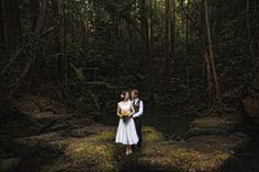 Bride and groom forest - Jonas Peterson    This image has been in my dreams for the last few months... love this idea... want to get married in a forest so badly <3