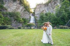 Doesn't this waterfall make for the most gorgeous backdrop? Photo by @smile_peace_love_creative #newyorkwedding #budgetsavvybride // See this post on Instagram: http://ift.tt/1MqCdET