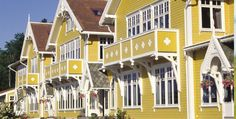 #Exterior #Color inspiration Solstrand Hotell og bad - The historic hotels of Norway