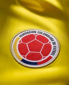 Escudo de la Federación Colombiana de Fútbol. Colombian People, Colombian Art, Colombia Soccer, Cali Colombia, James Rodrigues, Pride And Glory, South America, Central America, World Cup