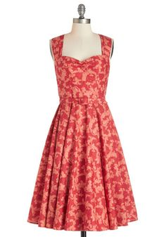 Dreamy Day Away Dress in Flourishes | Mod Retro Vintage Dresses | ModCloth.com