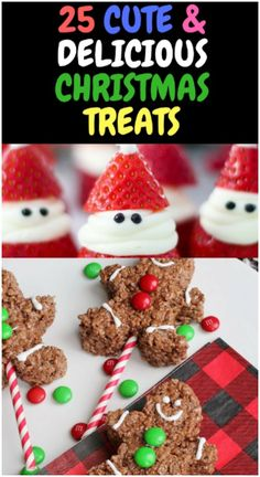 cute and delicious christmas treats for kids