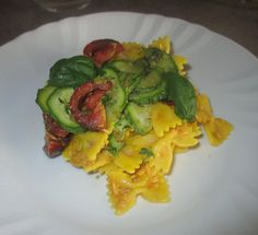 FORNELLI IN FIAMME: PASTA SALAD WITH SAFFRON, TUNA AND VEGETABLES - Insalata di pasta con zafferano, tonno e verdure