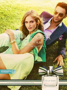 Noah Mills Lounges for Tommy Hilfiger's 'Pear Blossom' Fragrance Campaign