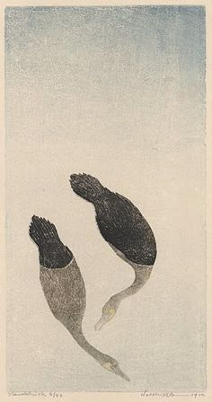 Modern Printmakers: Walther Klemm: a book of birds