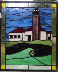 Beavertail Lighthouse. Jamestown,RI on Etsy, $225.00