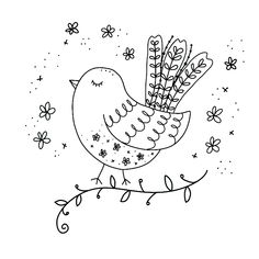 Doodle art 850265604637895703 - Time lapse of a bird doodle Source by Bird Doodle, Doodle Art, Fruit Doodle, Doodle Challenge, Doodle Coloring, Simple Doodles, Vintage Embroidery, Hand Embroidery Patterns