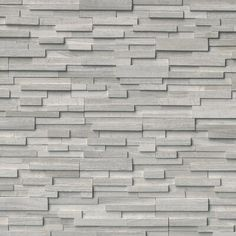Add an element of character to your to your home decor with the selection of this MSI White Oak Ledger Panel Honed Marble Wall Tile. Stone Siding, Stone Cladding, Wall Cladding, Stone Flooring, Wooden Flooring, Honed Marble, Marble Wood, Gray Marble, Marble Tiles
