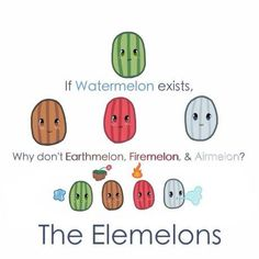 Rockmelon is the earthmelon