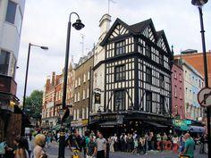 Greek Street & Old Compton St corner Soho London, UK East End London, London Life, Soho, The Good Place, Greek, England, Street View, City, World