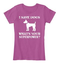 I SAVE DOGS - LIMITED EDITION  ORDER NOW ==> https://teespring.com/i-save-dogs?if=fin