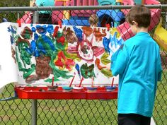 """Outdoor classroom will allow for some messy craft activity. Then students could write a """"How To"""" essay."""