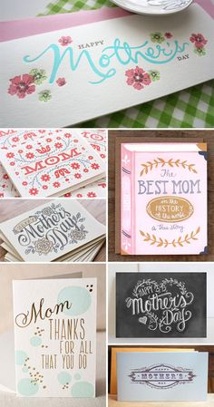 """""""The Best Mom in the History of the World"""" - my favorite of these Mother's Day Cards"""