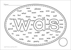 40 Pre-Pimer Sight Word Find Worksheets. Looks fun and so much easier for kinders to do than the conventional grid-like word searches.
