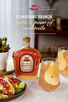 Vind waar te kopen Crown Royal Canadian Whisky in uw buurt, met inbegrip van bars en restaurants in uw omgeving. Cocktails, Party Drinks, Cocktail Drinks, Fun Drinks, Yummy Drinks, Cocktail Recipes, Bourbon Drinks, Beverages, Breakfast