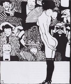 Kabarett Fledermaus. Program 1907.