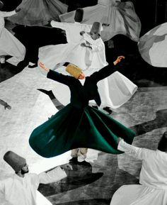 Whirling Dervishes in Konya, Turkey by Mohammad Kheirkhah Photography Istanbul, Rumi Poetry, Whirling Dervish, Sufi Quotes, Islamic Paintings, Orient, Dance Photography, Ballet, Islamic Art