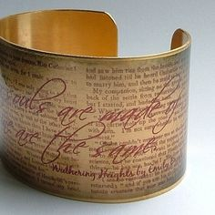 Wuthering Heights cuff