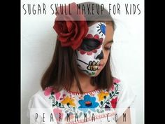 How to Paint Sugar Skull Makeup for Kids