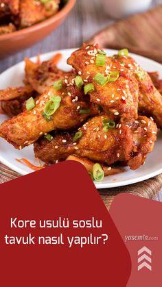Çin mutfağının sevilen tariflerinden olan tatlı ekşi soslu tavuk Güney Kore'nin de sofralarının vazgeçilmezlerinden biridir. Sosu damaklarda iz bırakan soslu tavuk üzerine susam serpilerek pişiriliyor. Daha önce görüp beğendiyseniz ve evde de denemek isterseniz mutlaka hazırladığımız tarifi incelemelisiniz.