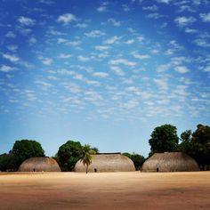 Foto: Miguel Pinto Guimarães   Aldeia Kamayurá, Alto Xingu.