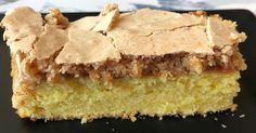 Danish Cake, Danish Dessert, Danish Food, Sweet Recipes, Cake Recipes, Dessert Recipes, Cooking Cookies, Bread Cake, Almond Cakes