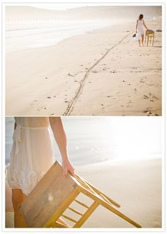 10 year anniversary: simple vow renewal on the beach | Let us help you plan YOUR Vow Renewal www.PerfectDayWeddingPlanners.com