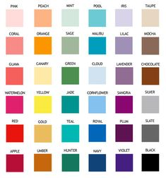 Image Result For Rustoleum Enamel Spray Paint Color Chart