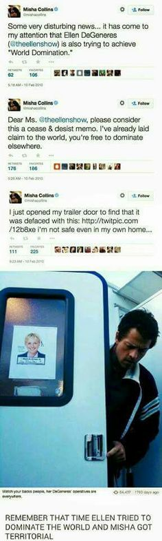 Oh, Misha. ;)