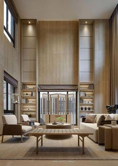 Hotel Lobby Design Inspirations / Glamorous Modern Mid-Century Decor Be inspired by outstandin Lobby Interior, Best Interior, Modern Interior Design, Hotel Lobby Design, Lounge Design, Designer Hotel, Chinese Interior, Architecture Design, Hotel Lounge