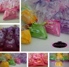 Napkin Diaper Favors for Babyshowers by FavorsCouture on Etsy, $20.00