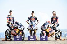 From Vroom Mag...  First and second to Aleix Viu ends the Red Bull Rookies season in Aragon