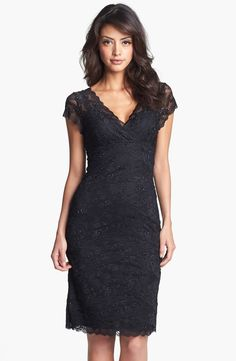 Marina Tiered Lace Dress (Regular & Petite)