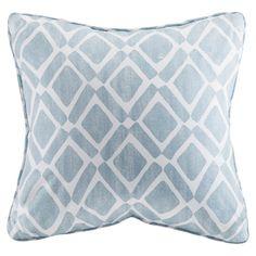 Madison Park Delray Diamond Printed Polyester Throw Pillow
