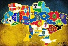 Герби областей України ... Emblems regions of Ukraine