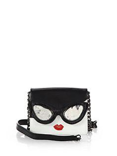 Alice + Olivia - Stacey Face Mini Clee Shoulder Bag