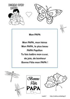 Mother Poems, Mother And Father, Father Sday, Fathers Day Art, Fathers Day Gifts, Special Words, Special Day, Mother In French, Diy For Kids