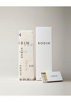 Rodin packaging. #design #barneybarrett #barney-barrett #minimalism