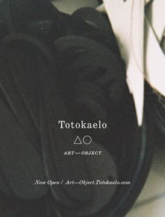 Simple poster from Totokaelo Art–Object - Totokaelo Art—Object is Now Open