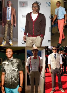 Mens Fashion: Russell Westbrook
