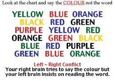 Google+ Funny Illusions, Optical Illusions, Illusions Mind, Funny Reading Quotes, Funny Quotes, Stupid Quotes, Funny Memes, Stroop Effect, Brain Gym Exercises