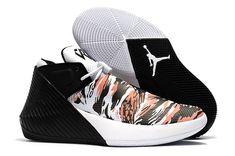 31d2a4dfc Jordan Why Not Zer0.1 Low Black White-Orange Basketball Shoes
