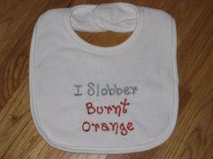 A whole new take on bleeding burnt-orange.