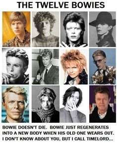 David Bowie - Timelord