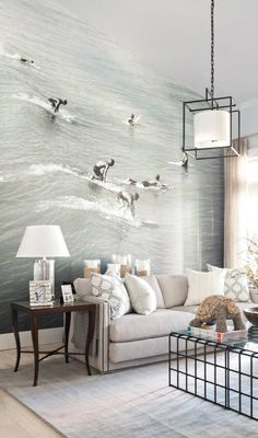 Love wall murals. Brings a room to life. Photo mural / ciao! newport beach: hgtv dream home : enter to win!