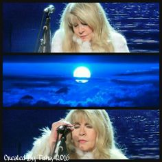 Stevie Nicks 24 Karat Gold Tour, 2016 Collage Created By Tisha 12/10/16