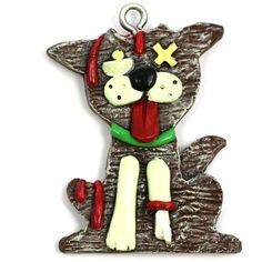 zombie-christmas-ornament-Gingerbread-Zombie-Dog-Christmas-Ornament